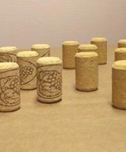 Agglomerate Wine Cork - #8x38mm - with Design (Bag of 50)